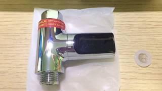 Loski LW-101 LED Kijelzős vizes vizes zuhanyzó
