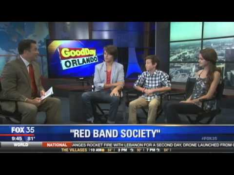 """The cast of """"Red Band Society"""" LIVE interview"""