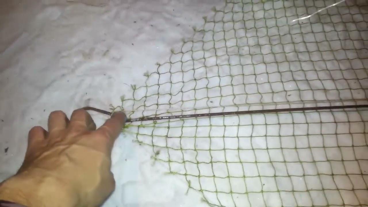 Сетки для рыбалки своими руками
