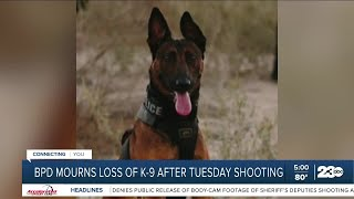 BPD Mourning The Loss Of K-9 \