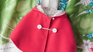 How To Sew a Cute Capelet or Poncho - DIY Style Tutorial - Guidecentral(Guidecentral is a fun and visual way to discover DIY ideas, learn new skills, meet amazing people who share your passions and even upload your own DIY ..., 2015-03-26T01:50:25.000Z)