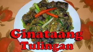 How to cook ginataang tulingan (tagalog)