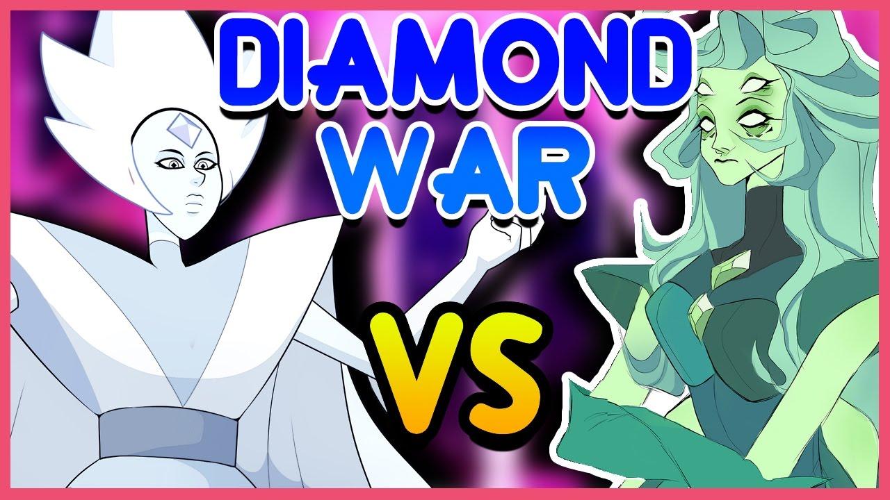 White Diamond Vs Green Diamond Homeworld Civil War