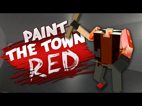 FUNNIEST GLITCHES YET - Best User Made Levels - Paint the Town Red