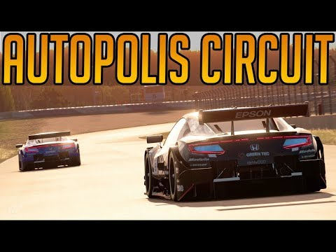 Gran Turismo Sport: The New Autopolis Circuit thumbnail