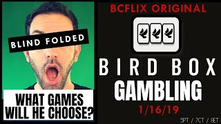 🔴LIVE 🦅Bird Box GAMBLING 🎰 Brian goes Blindfolded to Pick his games! 😎 BCSlots