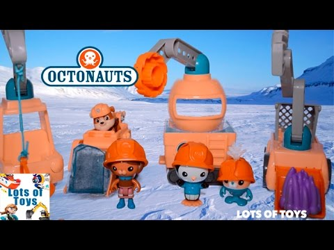 Play Doh Octonauts, Paw Patrol, Julius Jr Save the Creatures!! Octo Crane, Excavator Compilation