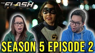 "THE FLASH Season 5 Episode 2 REACTION ""Blocked"" Review"