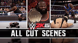 WWE 2K15 : Hall Of Pain ALL CUT SCENES