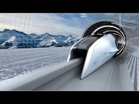 SpaceTrain - Speed 745 Mph!!! Fastest Transportation System In The World