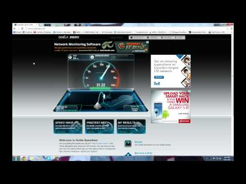 Cogeco Ultimate 30 Speed Test