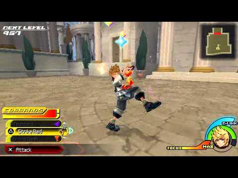 Kingdom Hearts Birth by Sleep: Trailer - Basic Combat