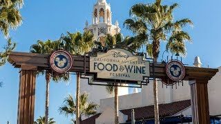 Disney California Adventure Food and Wine Festival Overview