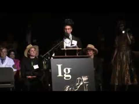 The 18th First Annual Ig Nobel Ceremony