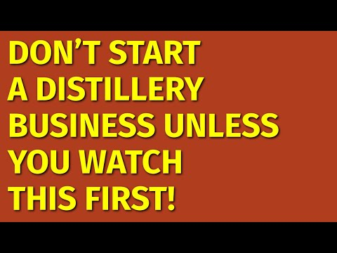 How To Start A Distillery Business | Including Free Distillery Business Plan Template
