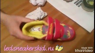 """Обзор детских светящихся кроссовок """"Beo Bei Xia"""" расцветка Хаки"""