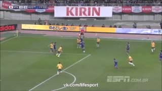 Japan 2 Australia 1 Kirin Cup 2014
