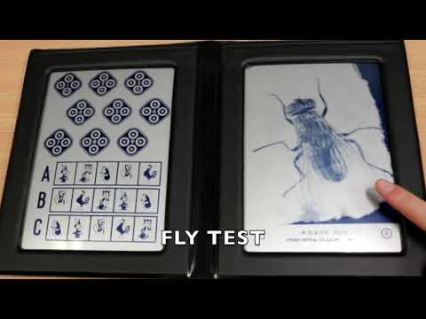 ORT5CLA Titmus Stereoacuity Test