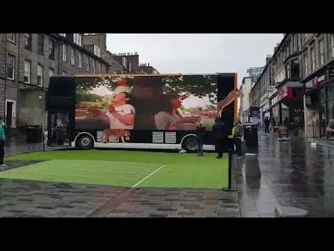 LED Advertising Bus
