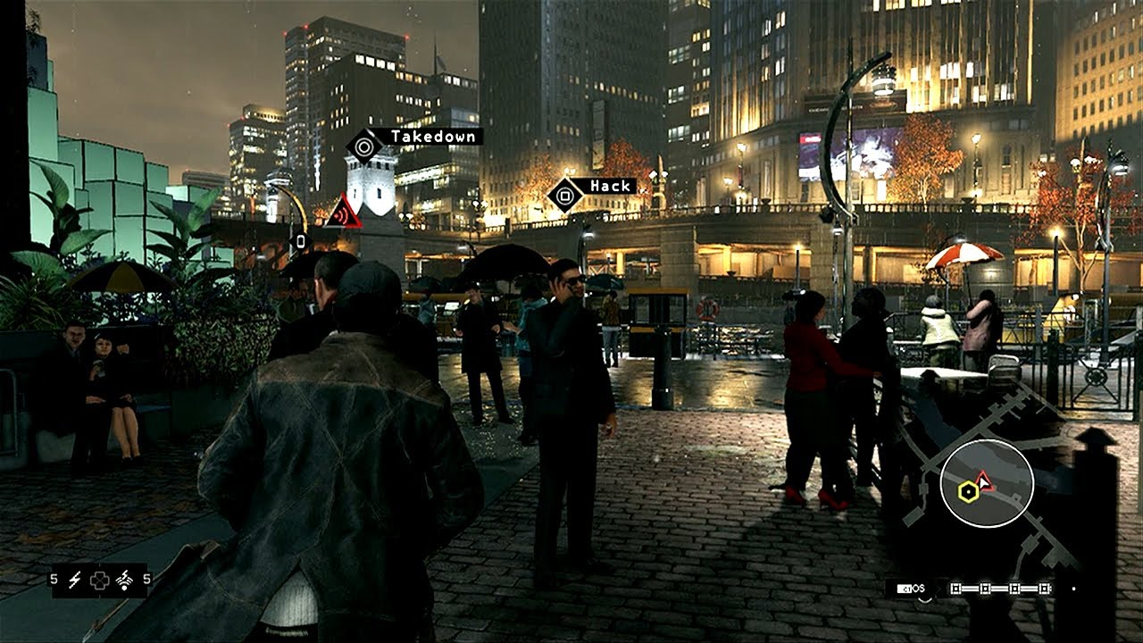 watch dogs pc/ps4 video tech comparison - youtube