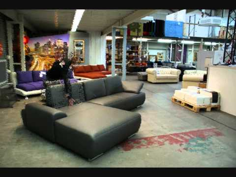 ecksofa mit verstellbaren r ckenlehnen youtube. Black Bedroom Furniture Sets. Home Design Ideas