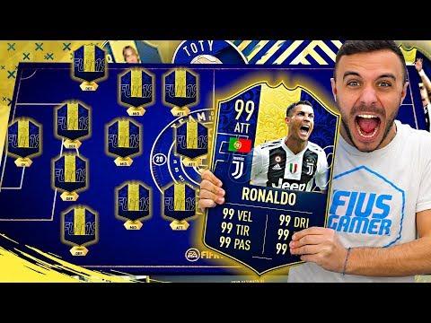 I MIEI 11 TOTY!!! FIFA 19 ITA