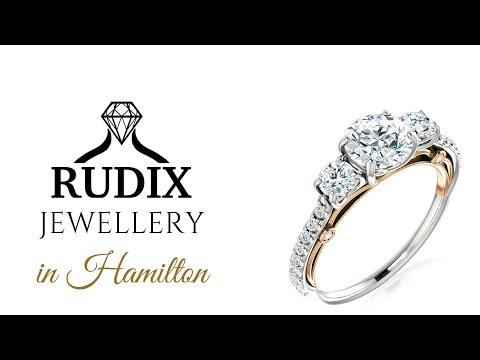 Custom Engagement Ring in Hamilton Ontario (RUDIX JEWELLERY)