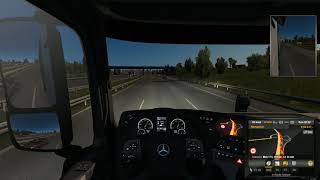 Euro Truck Simulator 2 - AI accident on the German autostrada