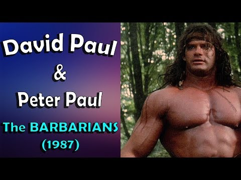 Barbarian Brothers and their powerful muscles HD