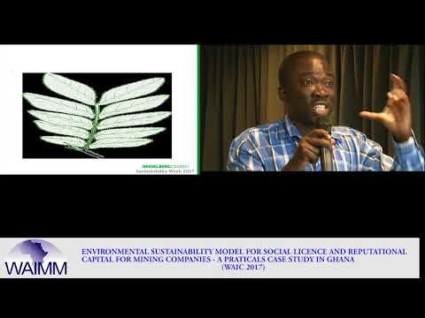 WAIC 2017 Presentation by Kwabena Labi Addo, Sustainability Coordinator for Ghacem, Ghana