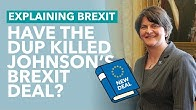 Did the DUP Just Kill the Johnson Deal? - Brexit Explained