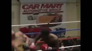 huge KO in boxing