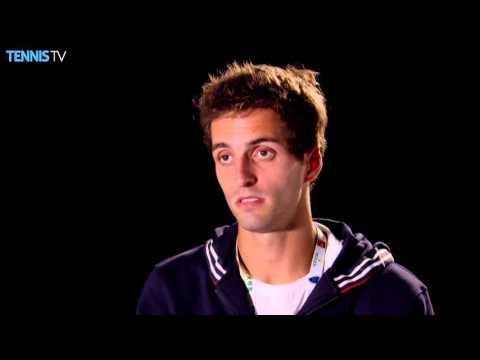 Ramos Vinolas Reacts To Beating Federer
