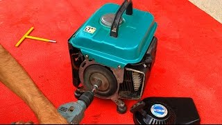 How to make electric starter for any generator