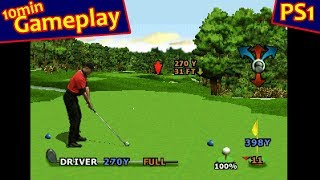 Tiger Woods PGA Tour 2000 ... (PS1) 60fps