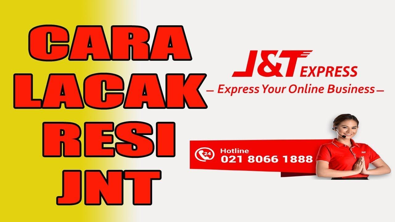 Cara Cek Resi J T Express Lacak Resi Jnt Lewat Hp Android Youtube