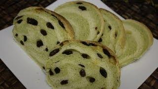 How To Make Maccha Marble Bread  抹茶マーブルパン的なもの