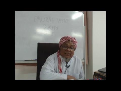 Download DAURAH TAFSIR  QURAN DI MADRASAH TAFSIR SUNNAH 2018 SESI  PETANG  ( 30-4-18)