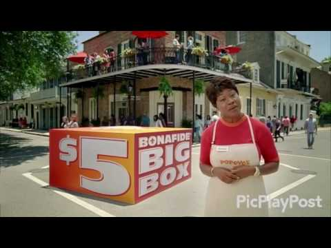 Popeyes Big Box Commercial