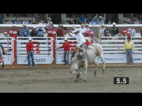 Calgary Stampede - Rodeo Highlights of the Day - Day 3