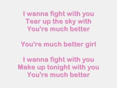 Much Better Jonas Brothers with Lyrics