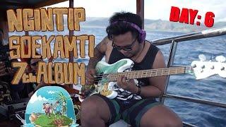 #Soekamti7ThAlbum Day 6 rekaman di atas kapal