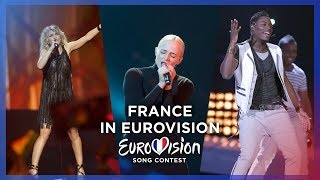 🇫🇷 France in Eurovision - My Top 10 [2000 - 2018]