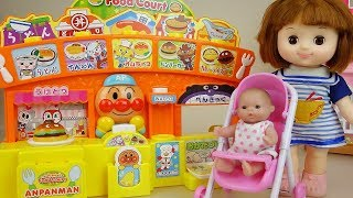 Baby Doli and food court toys surprise eggs baby doll play