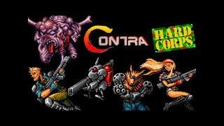 Contra Hard Corps прохождение Co Op U  Игра SEGA Genesis Mega Drive SMD 1994 Стрим RUS