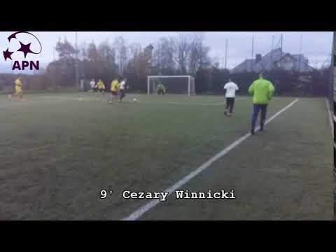 gol 9' Cezary Winnicki FC Skorupy vs F.B MojsaOściłowski
