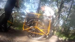 4 mile Dirt jumps 3 wheel Bike