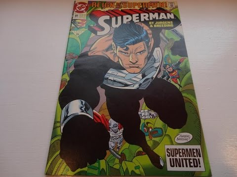 1993 Reign Of Superman United Comic Book-Auction Find