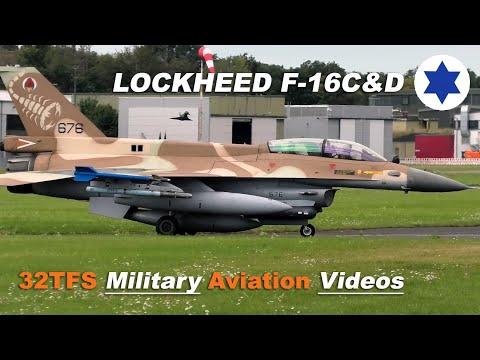 [4K] Israeli Air Force At Norvenich Air Base Germany (ETNN)