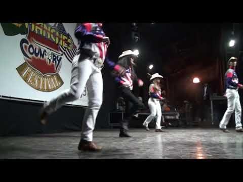 Nebraska Country Dance no Comanches Country Festival 2017